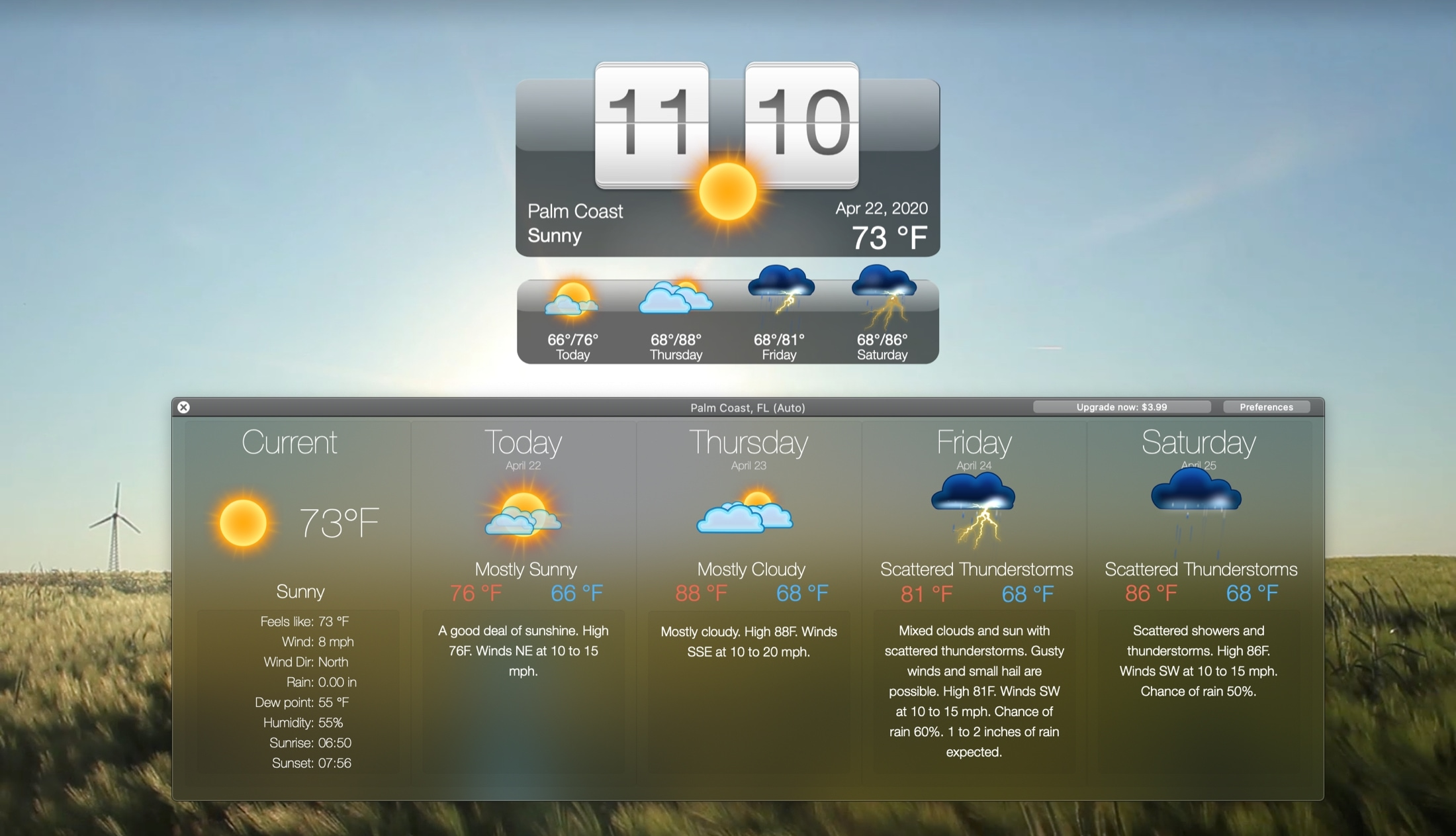 Living Weather and Wallpapers HD Mac