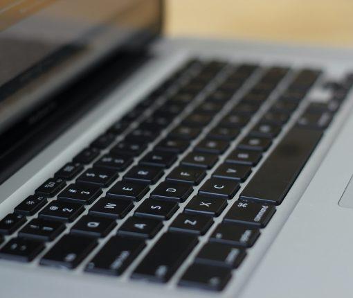 MacBook keyboard - Contacts app keyboard shortcuts