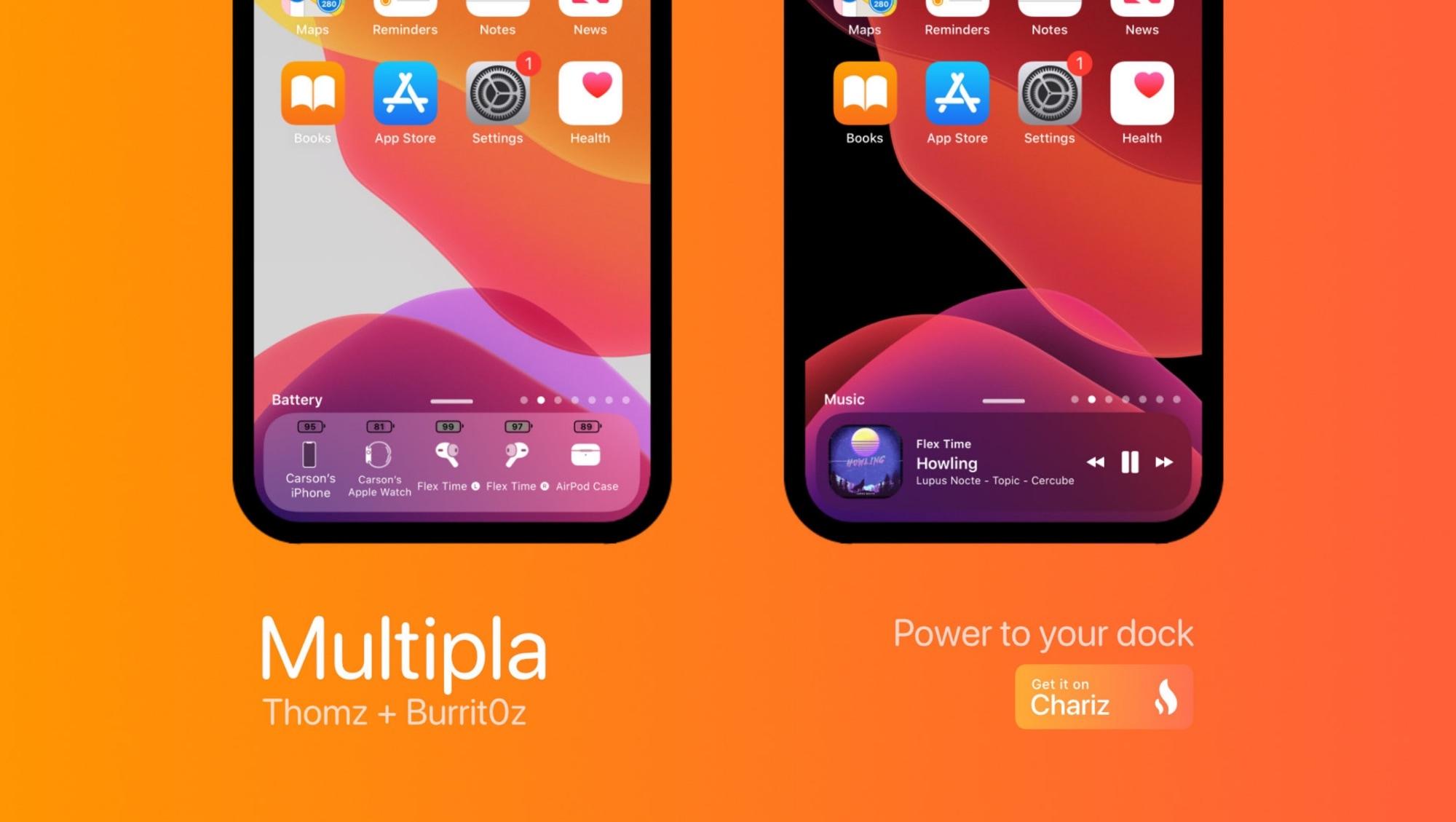 Miksi tyydyttää tavallinen iPhone-telakka, kun voit käyttää Multipliä?