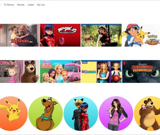 Netflix For Kids Web