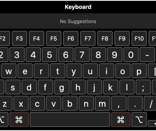 Onscreen Mac Accessibility Keyboard