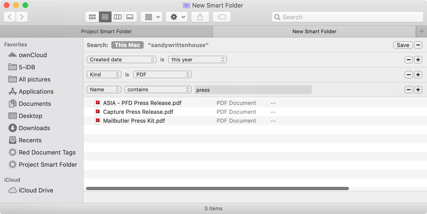 Smart Folders This Year PDF Name