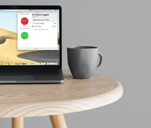 Time Trackers for Mac - TimeTag