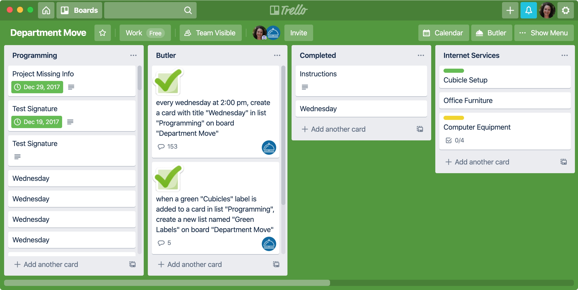 Trello Mac Manage Projects
