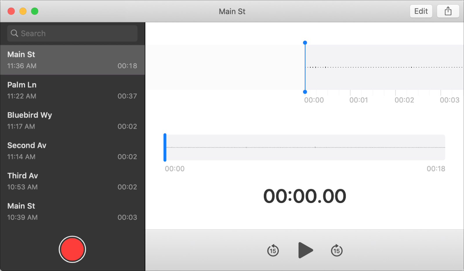 Voice Memos With Locations Mac