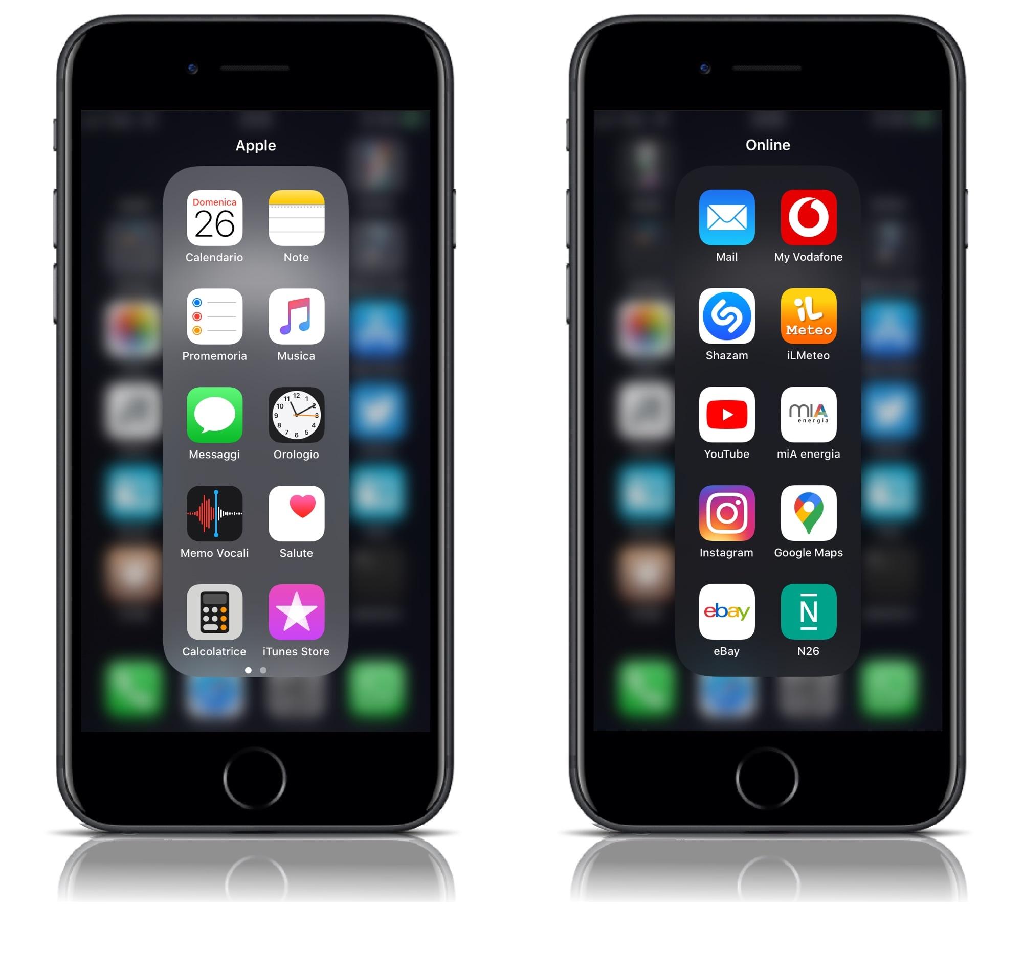 YouFold auttaa kansioita hyödyntämään paremmin iPhonen korkeaa näyttöä