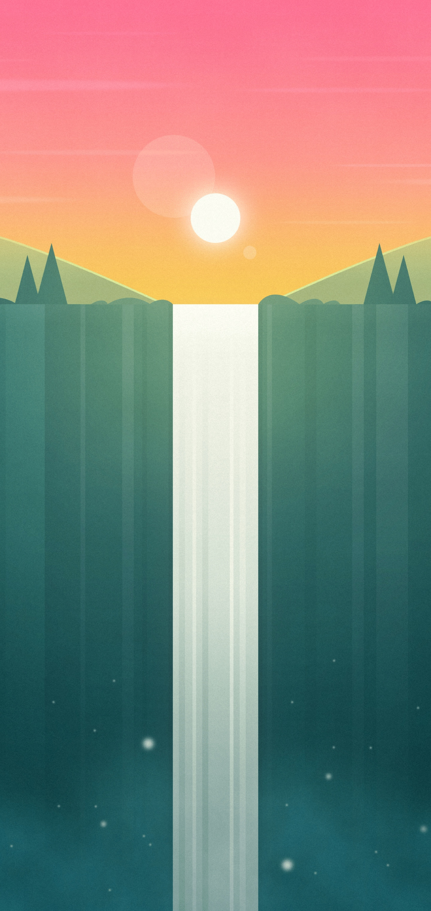 Cartoon landscape iphone wallpapers cloudxero idownloadblog 5
