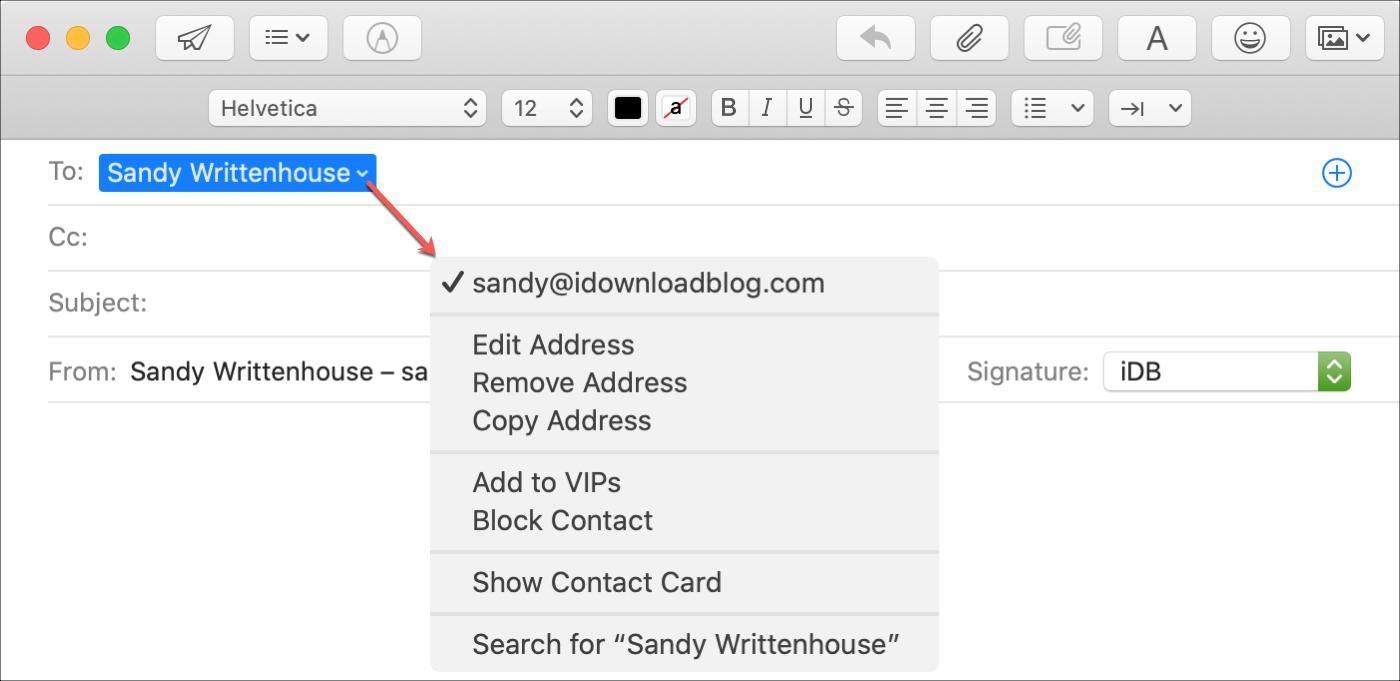 Expand Mail Smart Address