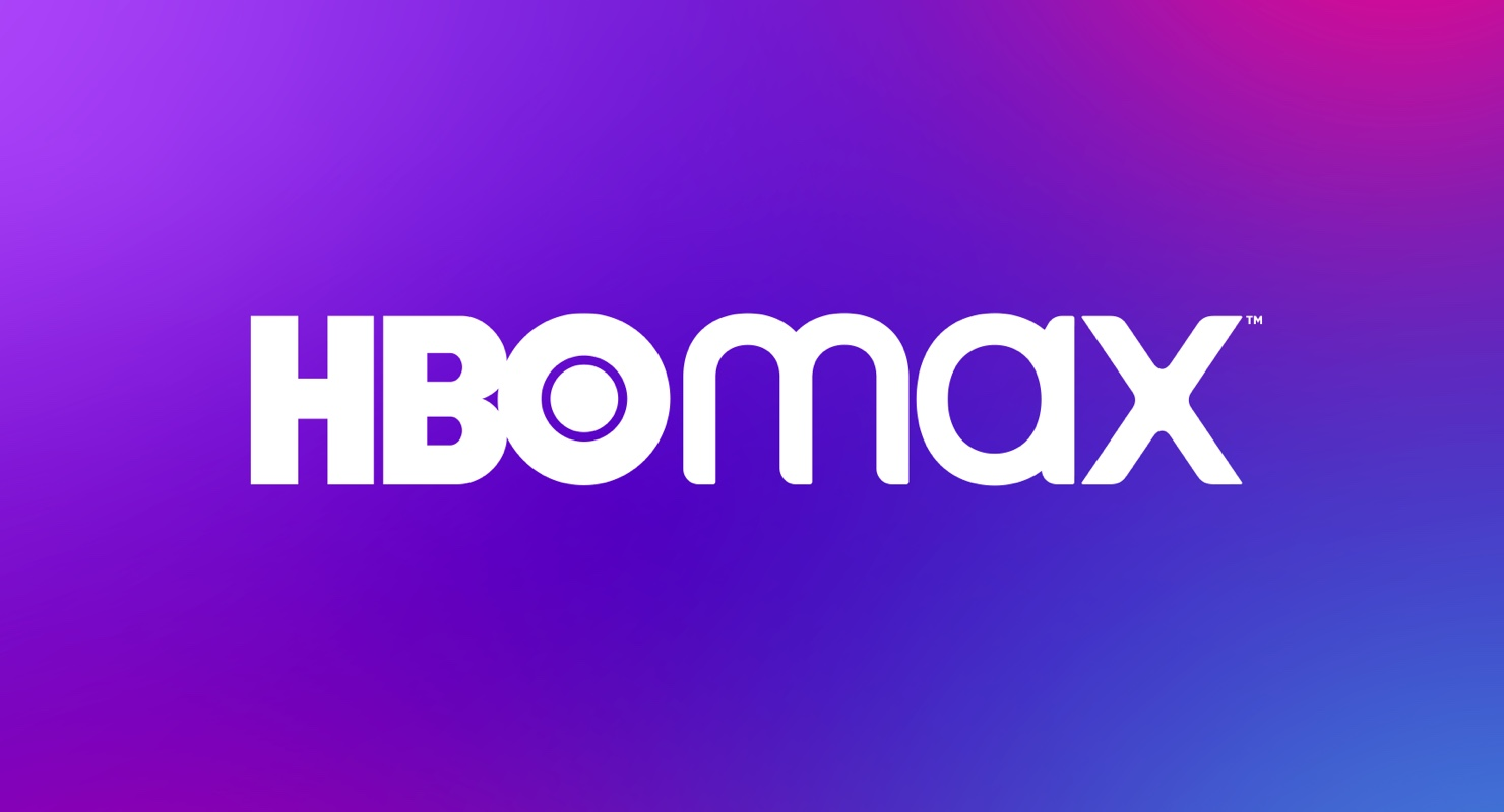 White HBO Max lettering set against a colorful background