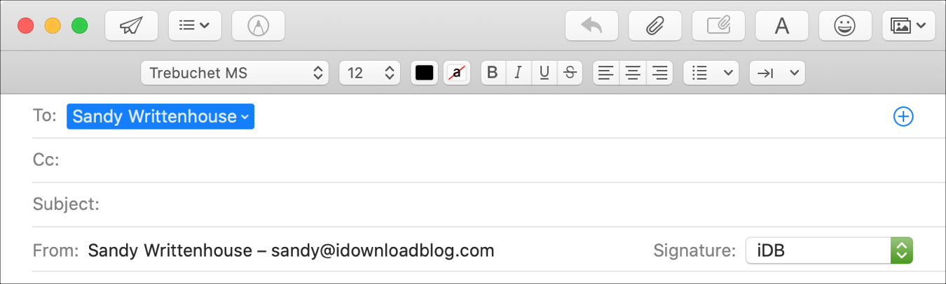 How to use Smart Addresses in Mail Mac
