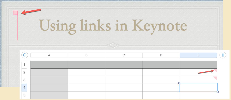 Keynote Numbers Comment Indicators Mac
