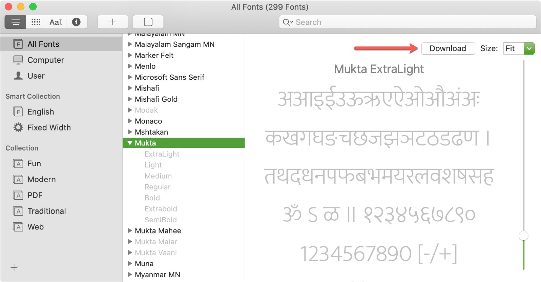 Mac Font Book Download Hidden Font