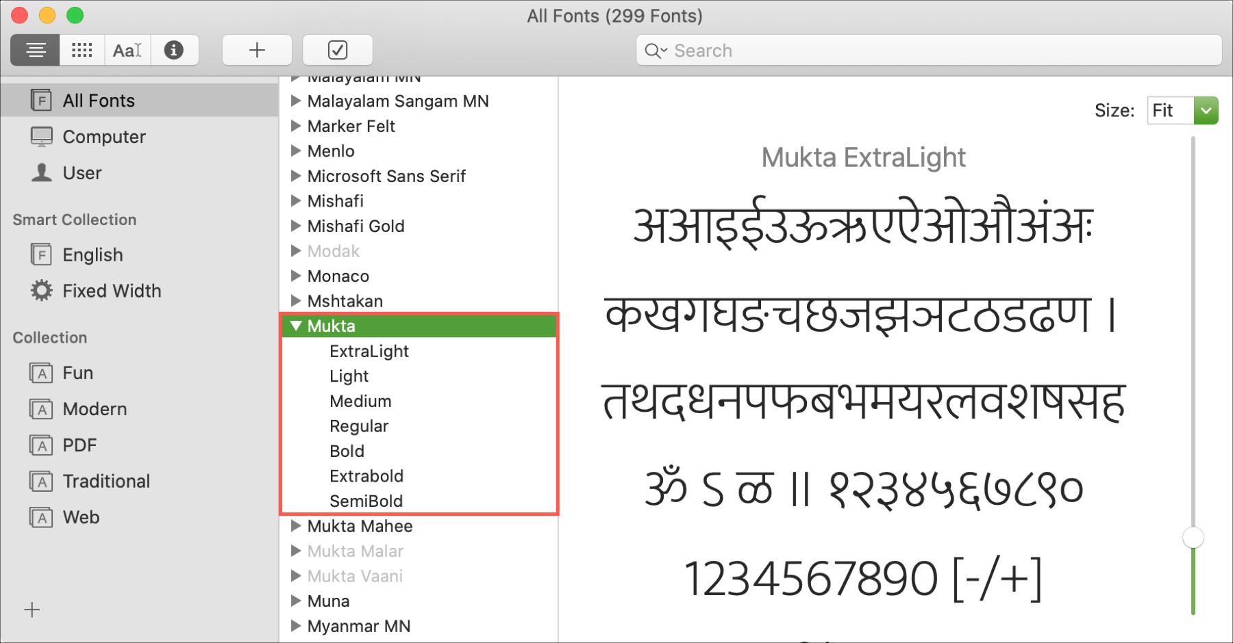 Mac Font Book Installed Hidden Font