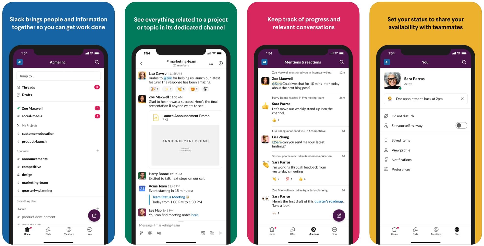 Slack cho iOS có thiết kế mới để điều hướng ít phức tạp hơn 1