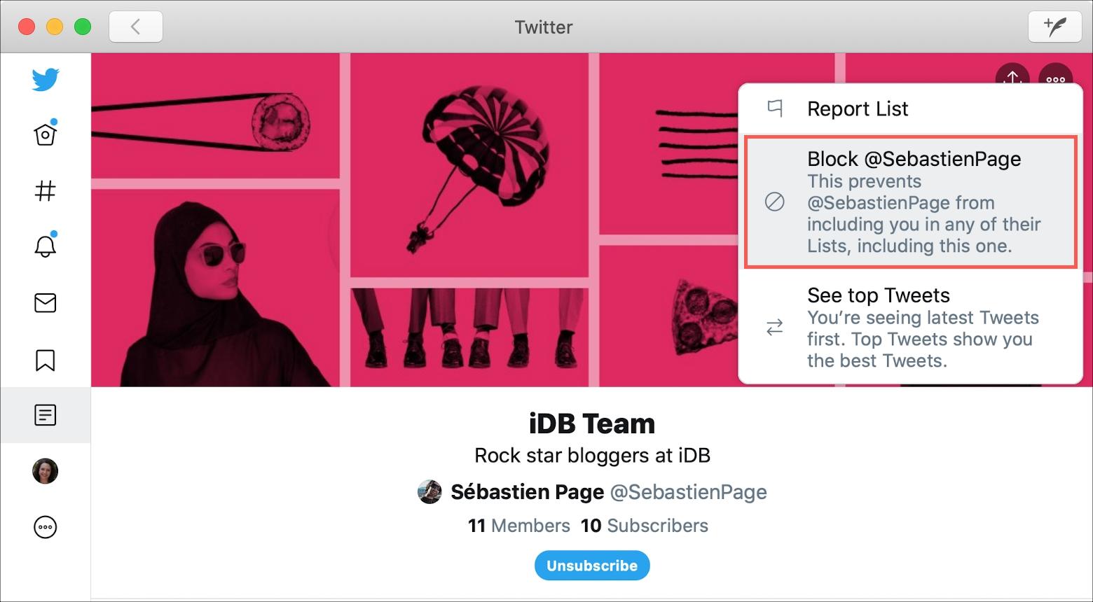 Twitter Block List Creator Mac