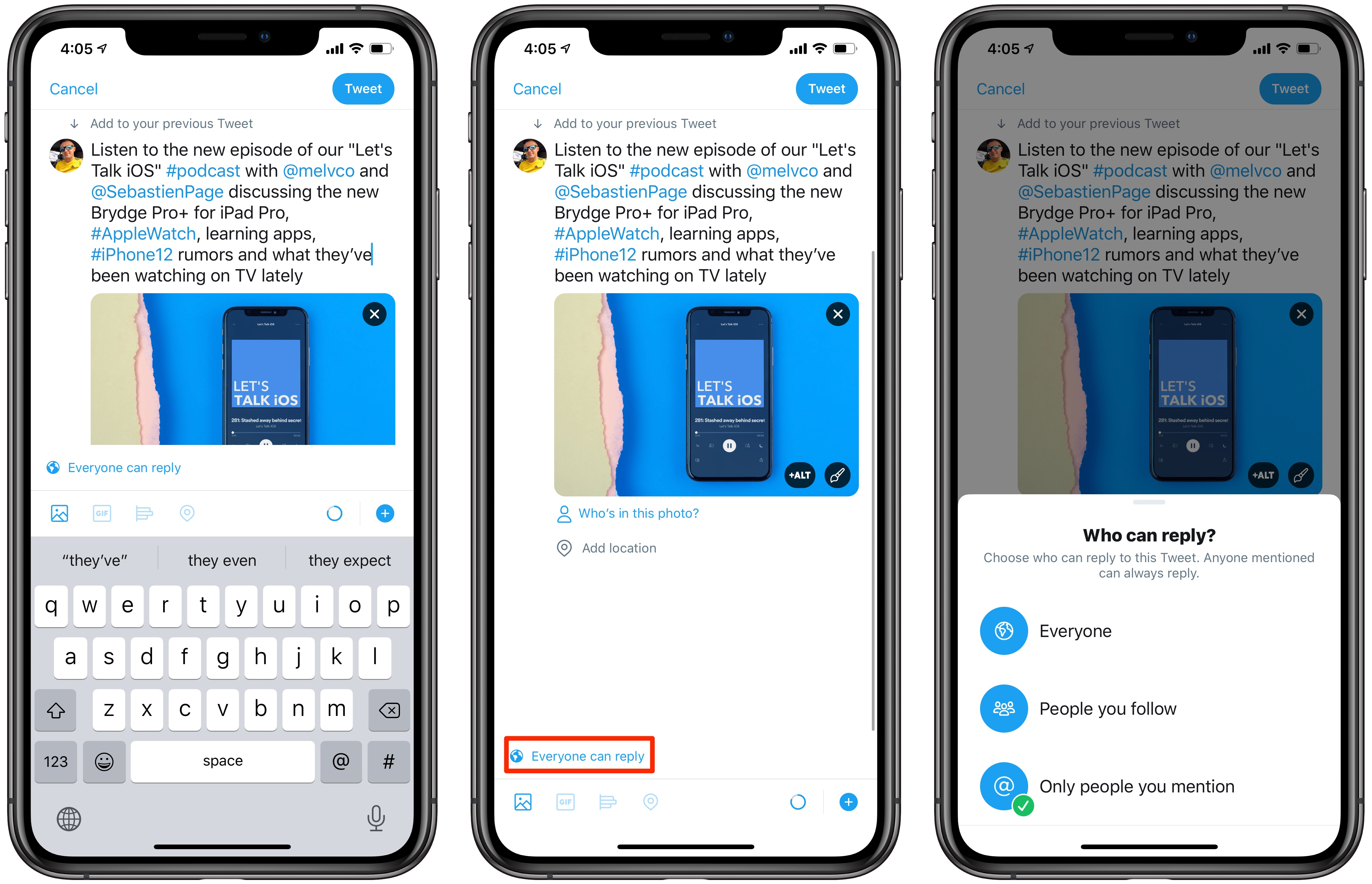 Twitter Conversation Participants - limit tweet replies