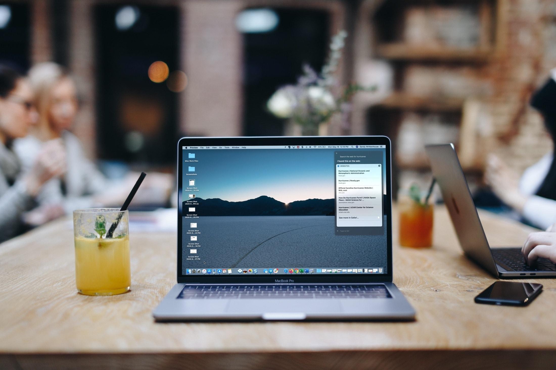 Use Siri To Search the Web on Mac