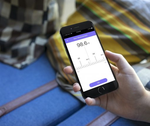 body temperature tracking apps for iPhone - MedM