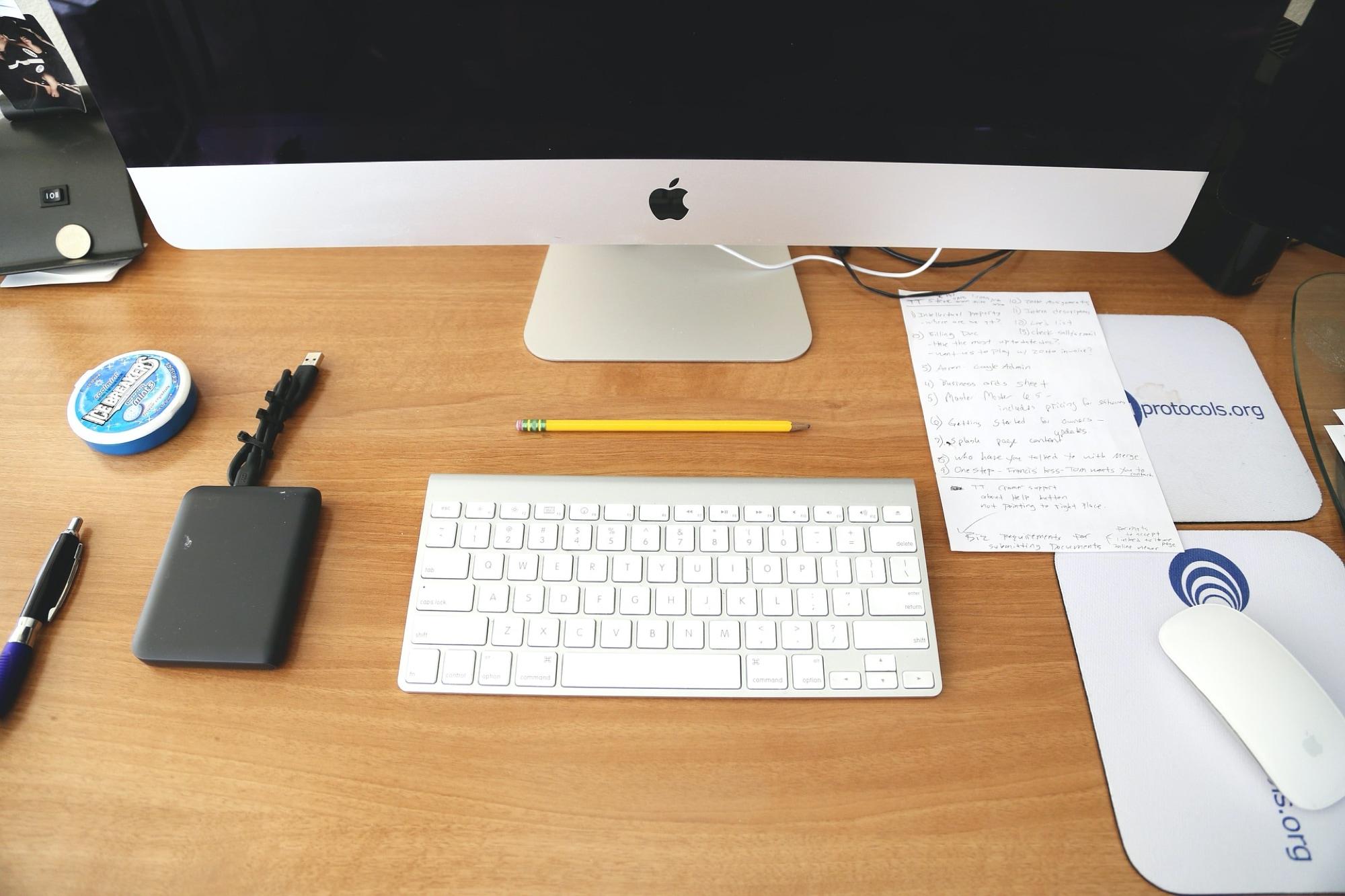 iMac keyboard - Calculator keyboard shortcuts