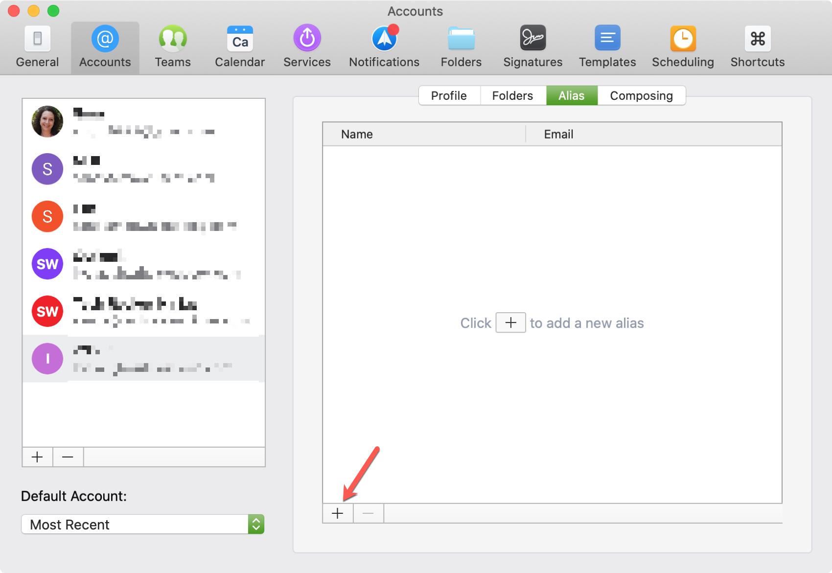 Add Alias Spark on Mac