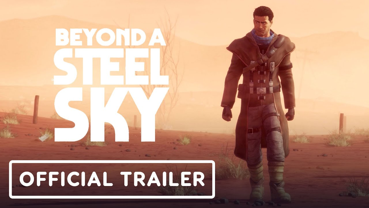 Check out the story trailer for 'Beyond a Steel Sky', the cyberpunk adventure game coming soon to Apple Arcade