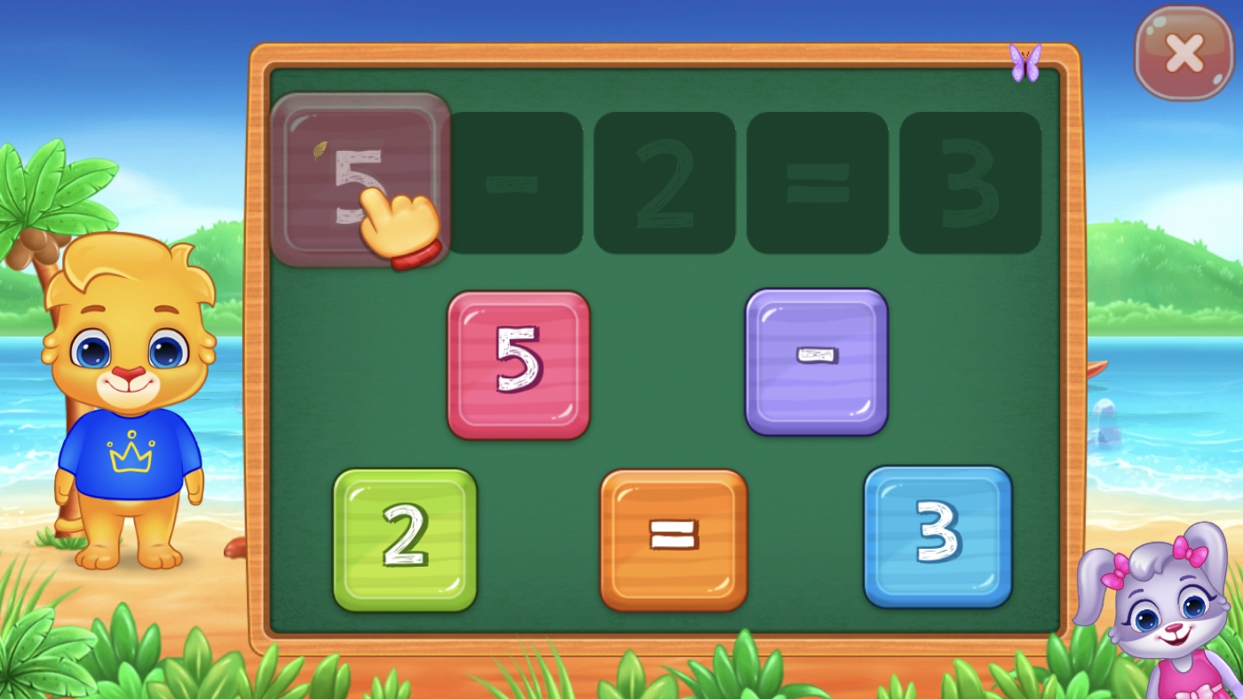 Math Kids Puzzle iPhone