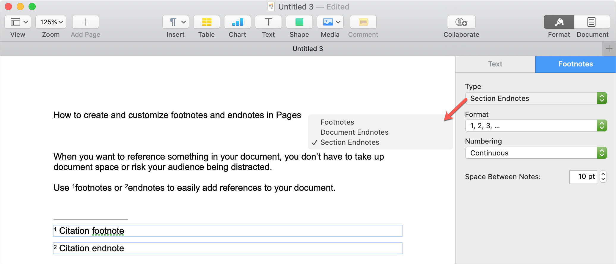 Pages Convert to Endnote Mac