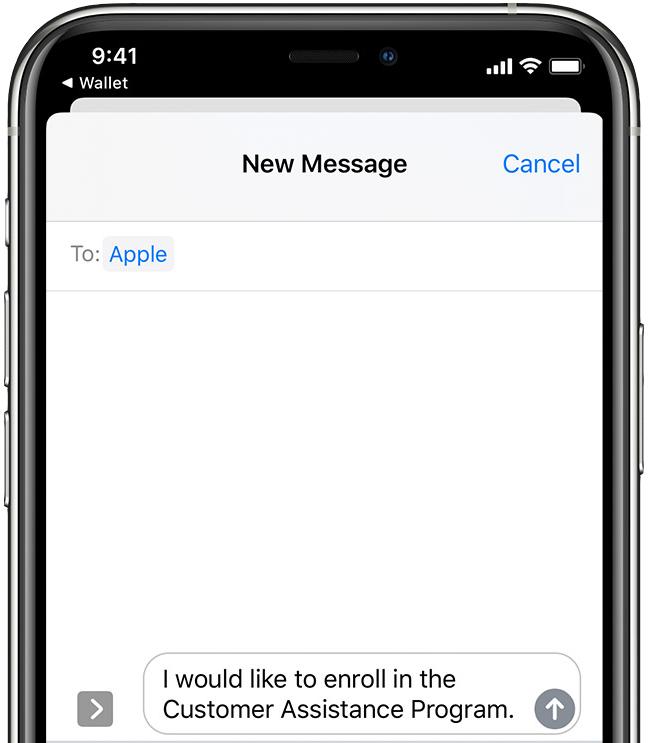 Apple Card COVID-19 Customer Assistance Program tutorial