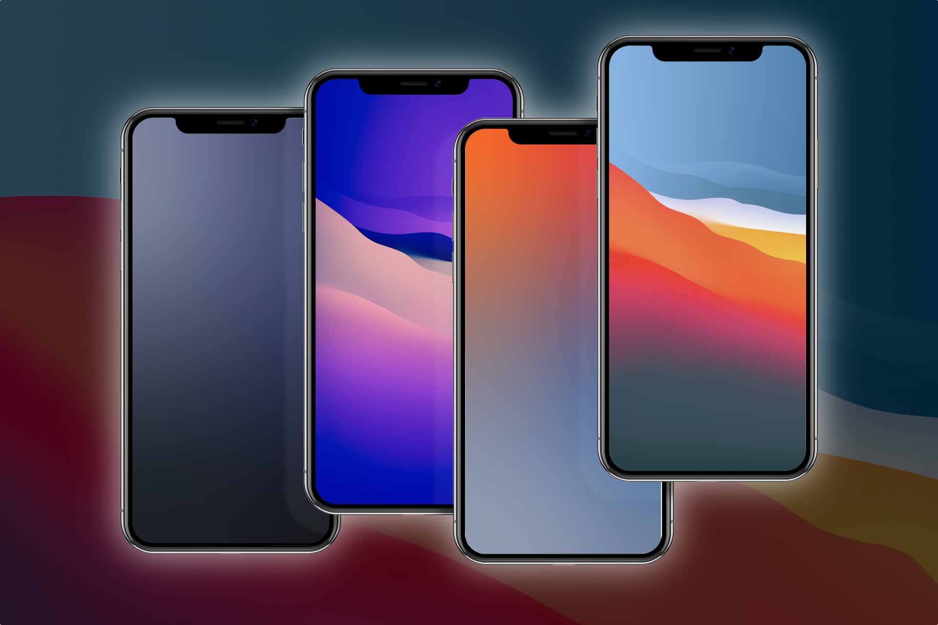Download These Modified Ios 14 And Big Sur Wallpapers