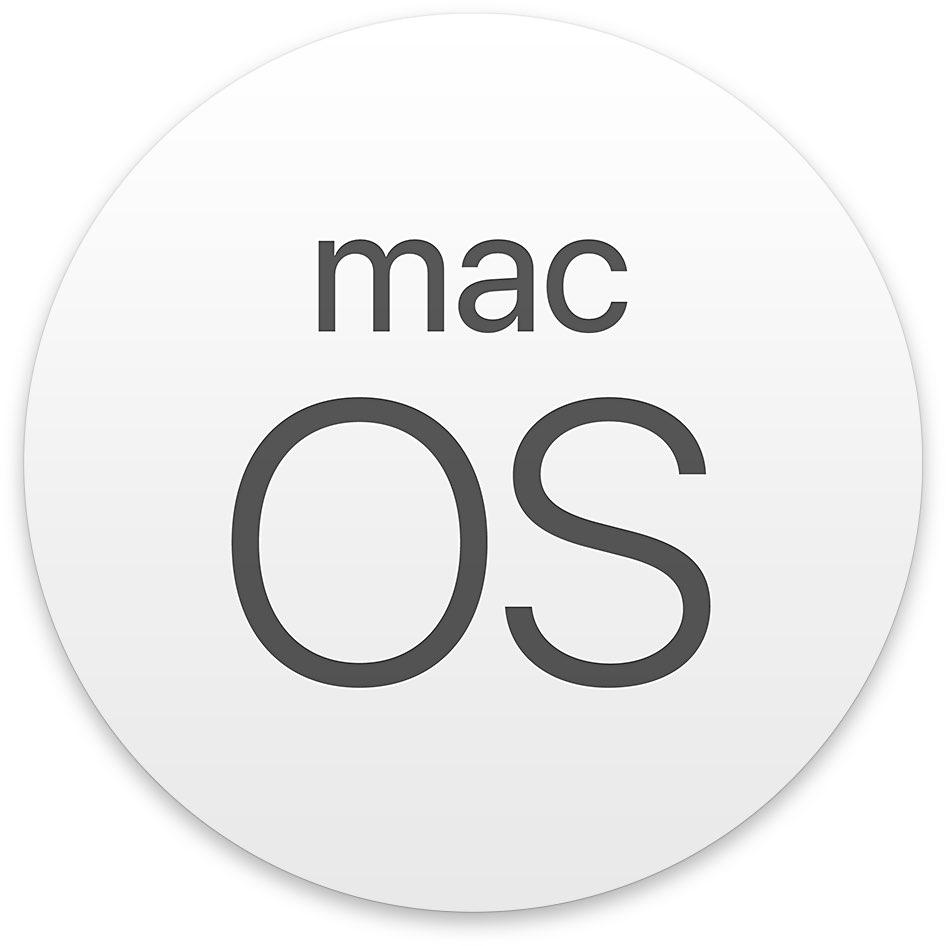 macOS circular icon