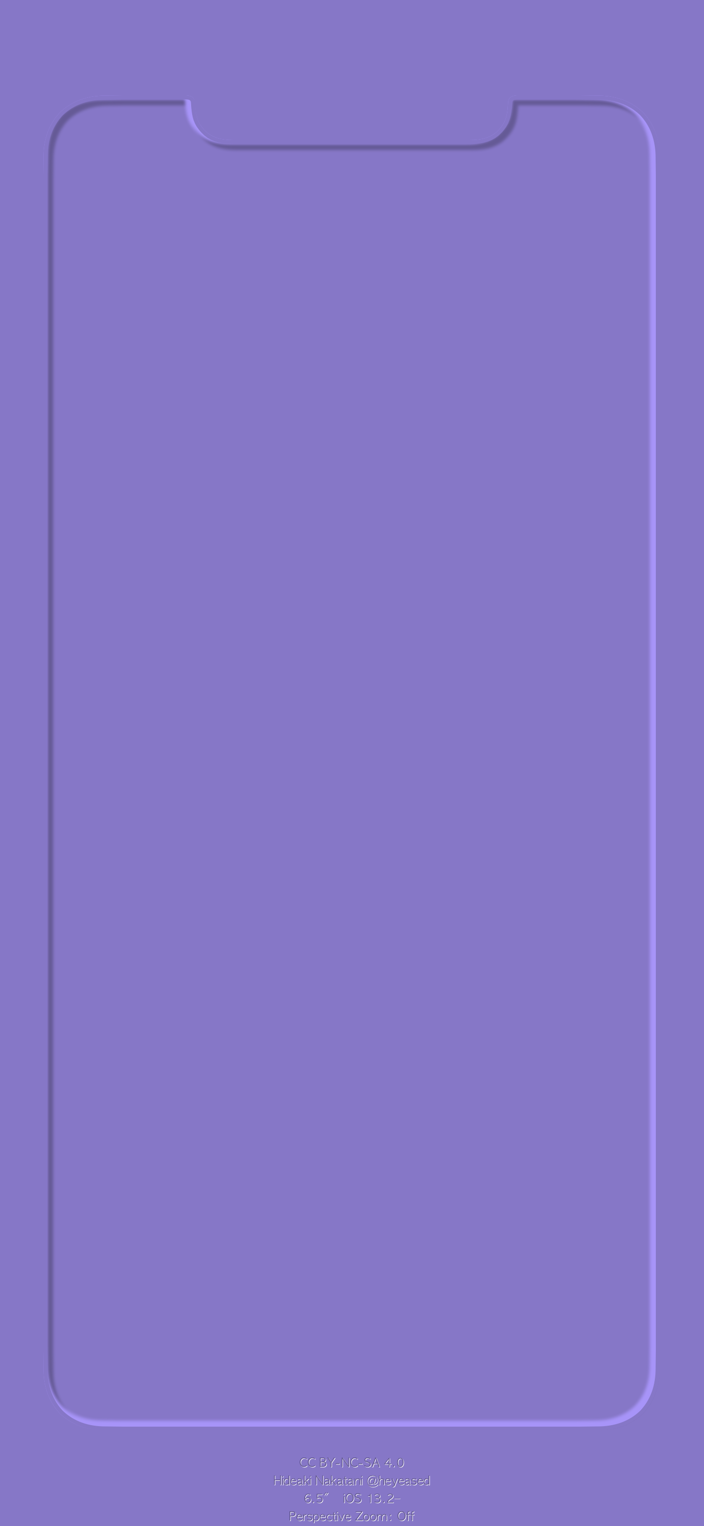 3d border max violet iphone wallpaper heyeased idownloadblog