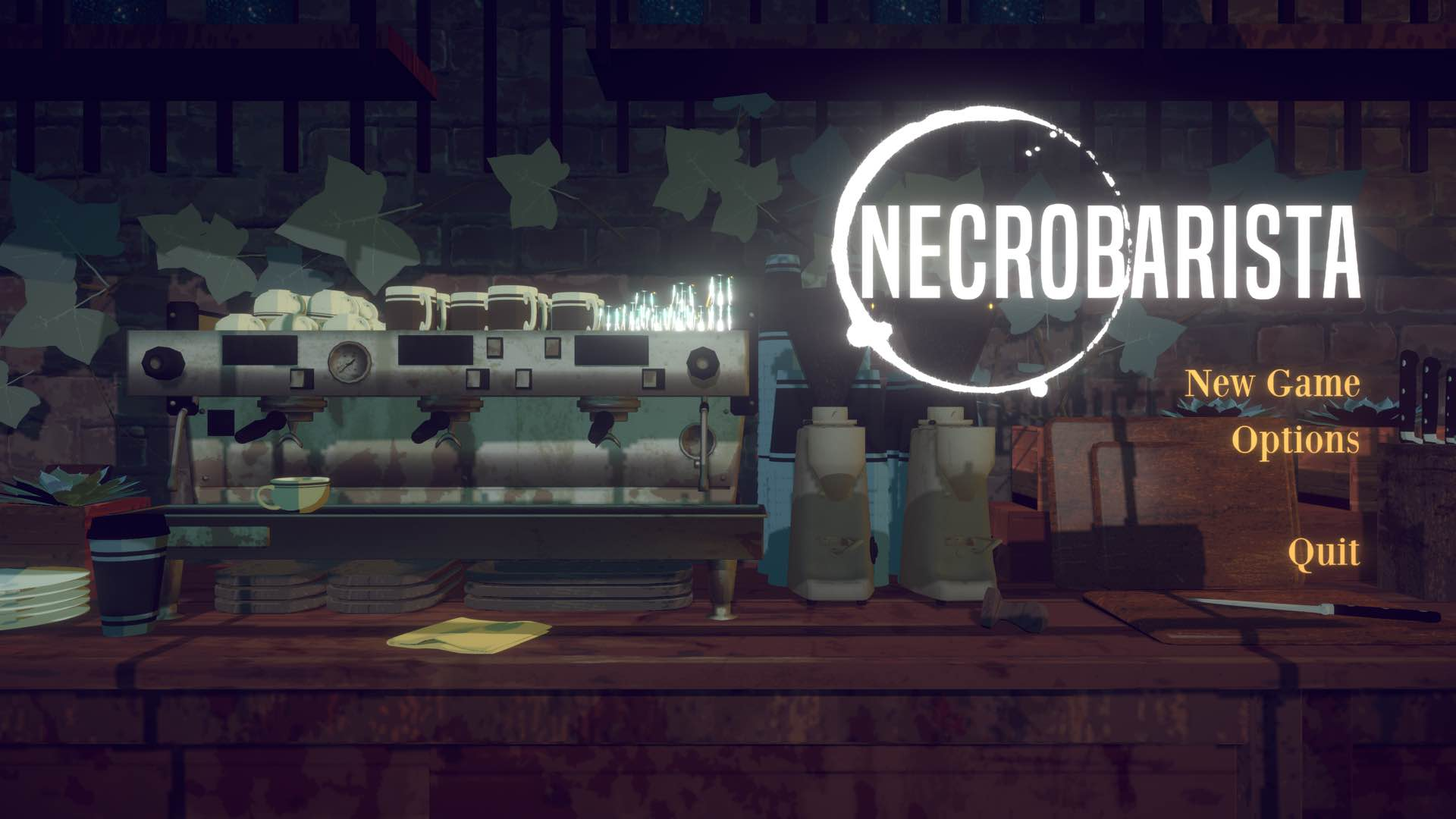 "Dark adventure ""Necrobarista"" is the newest addition to Apple Arcade"