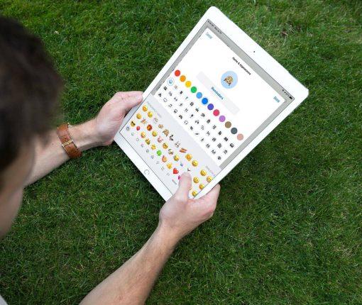 Emojis in Reminders Lists iPad