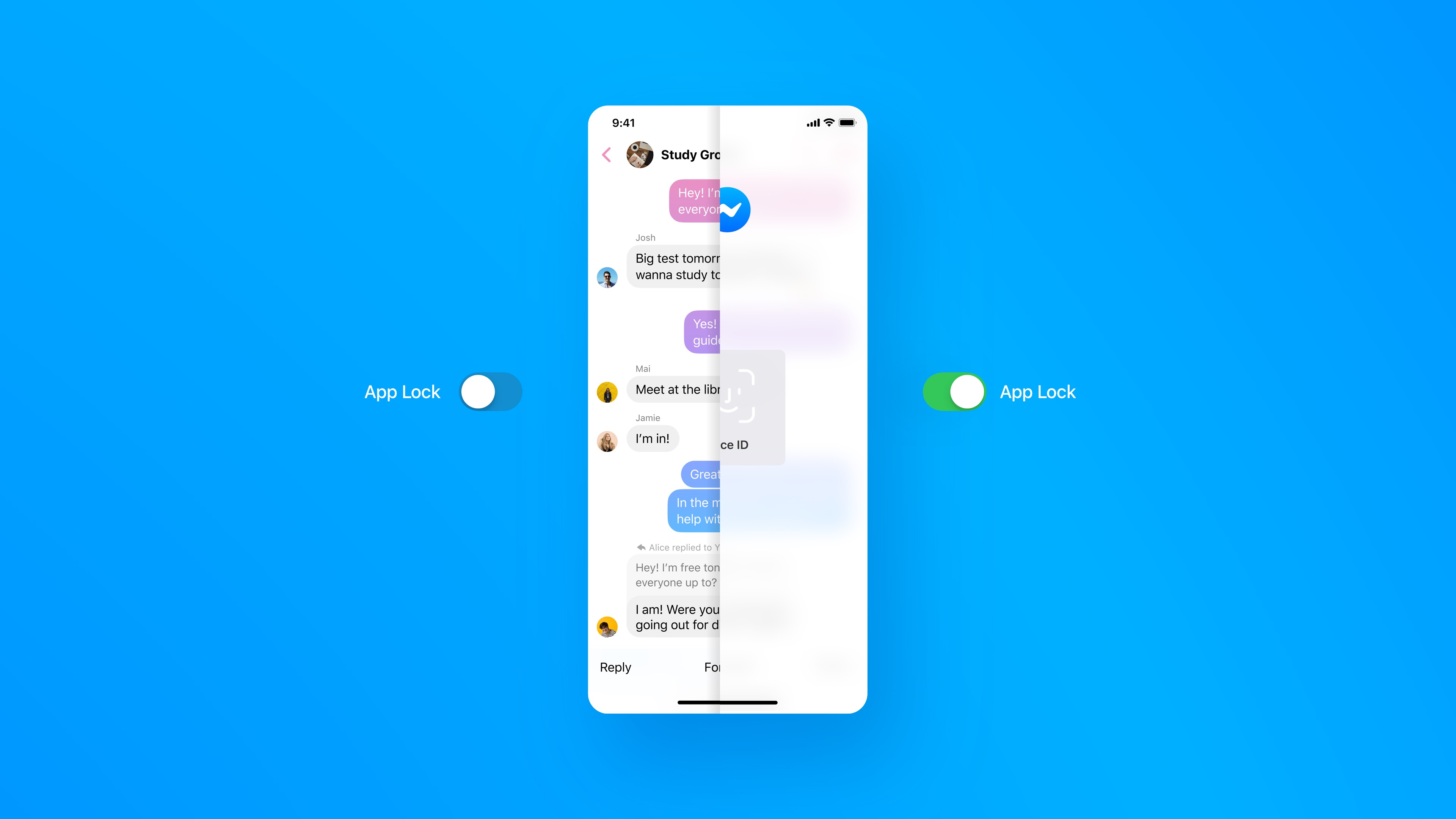 Facebook Messenger Face ID - hero image