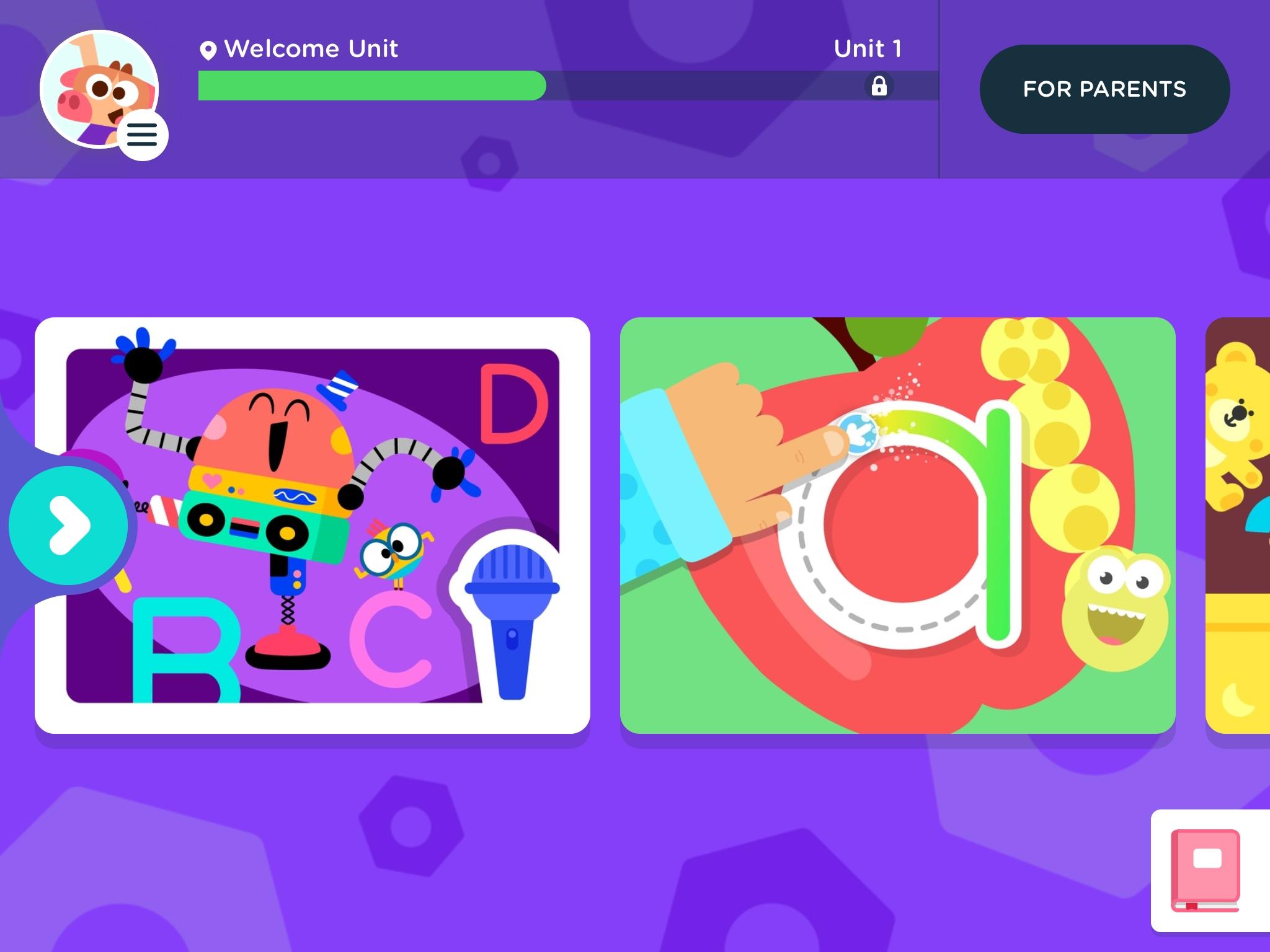 Lingokids iPad Welcome Unit