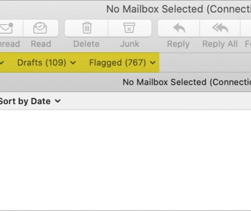Mac Mail Favorites Bar