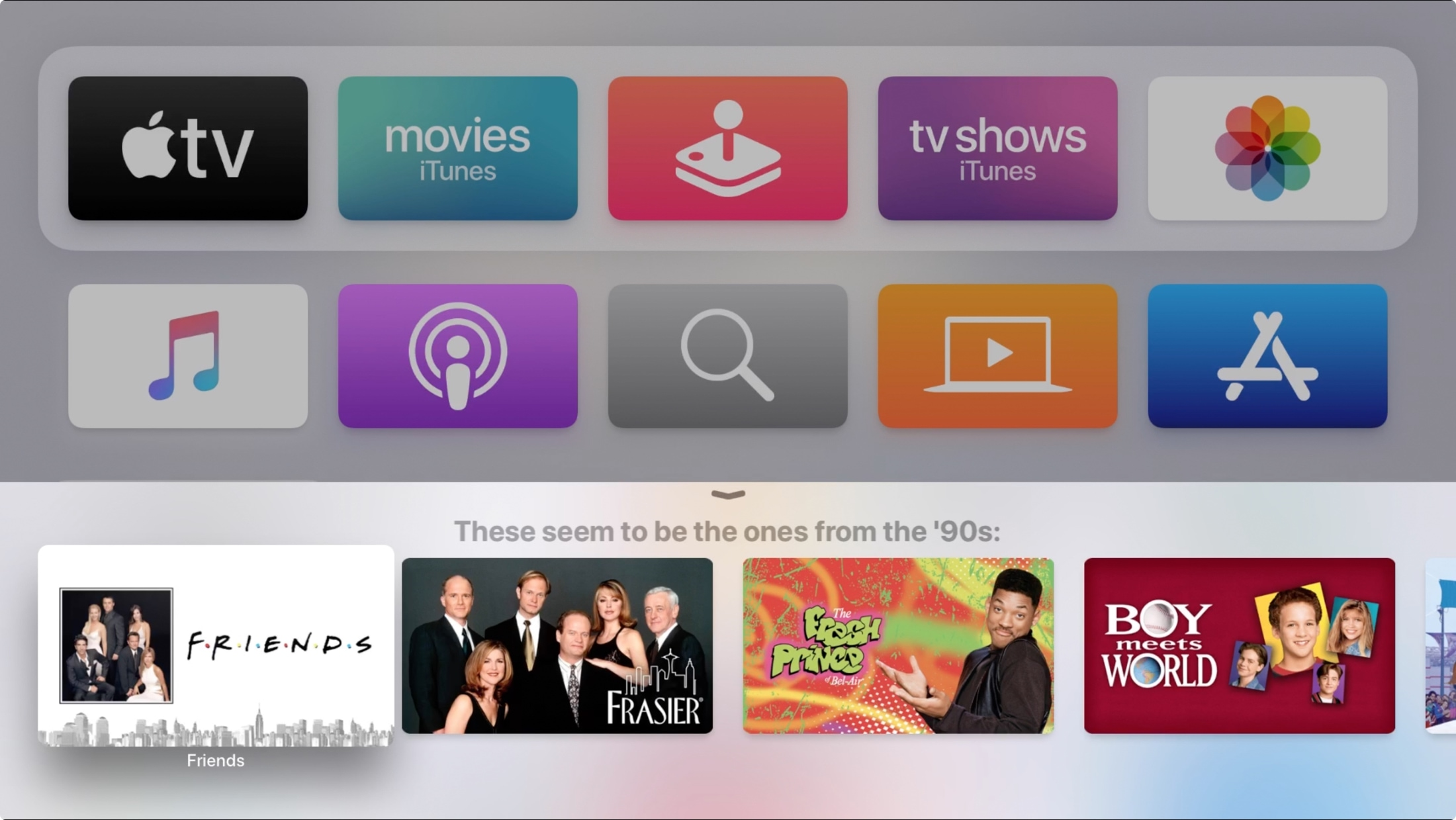 Narrow Search Siri on Apple TV