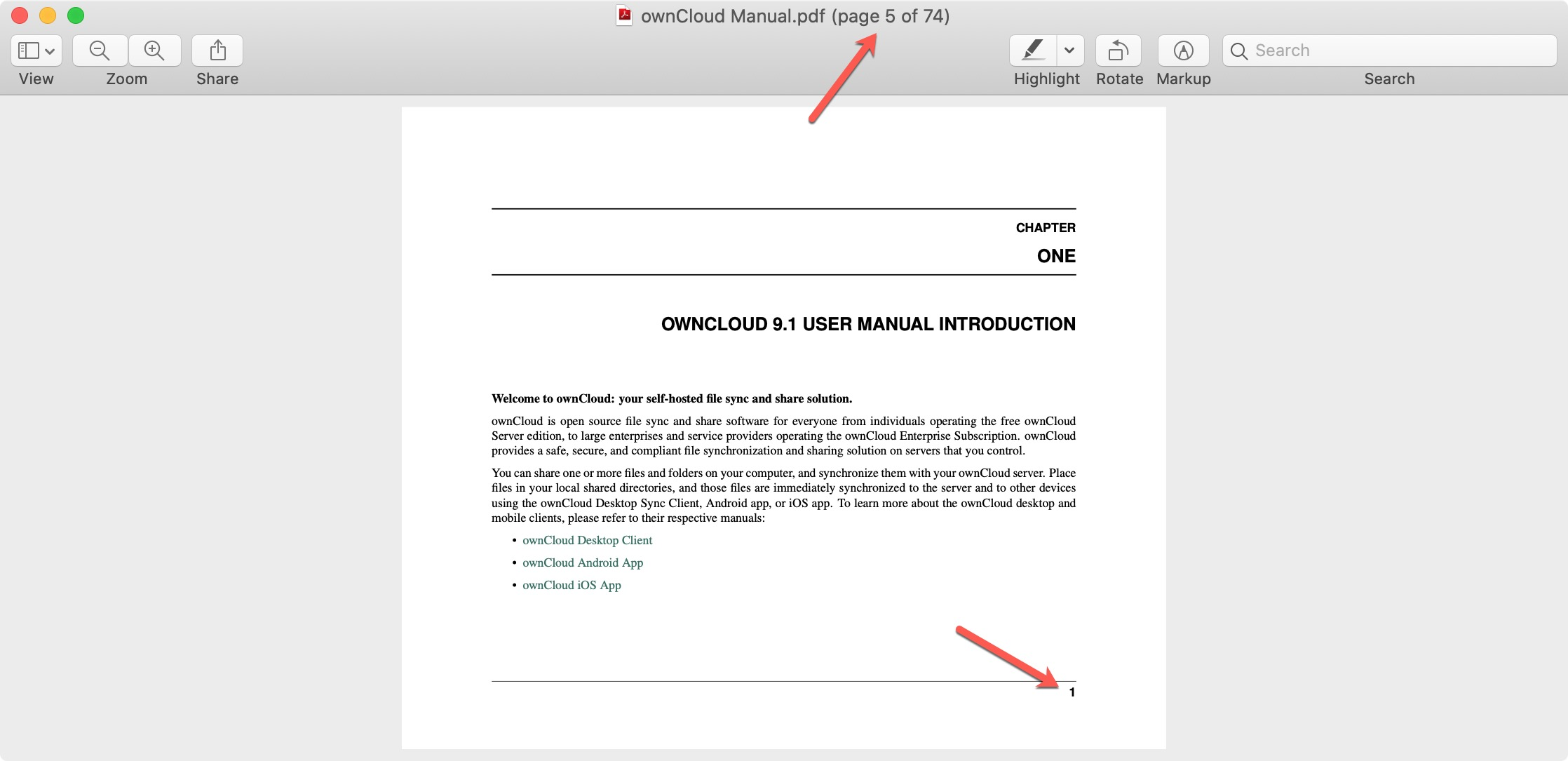 PDF Numbering Preview vs Actual