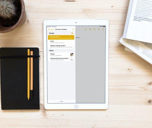 Pinned Notes iPadOS 14