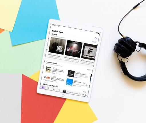 Pocasts Updated Listen Now iPad