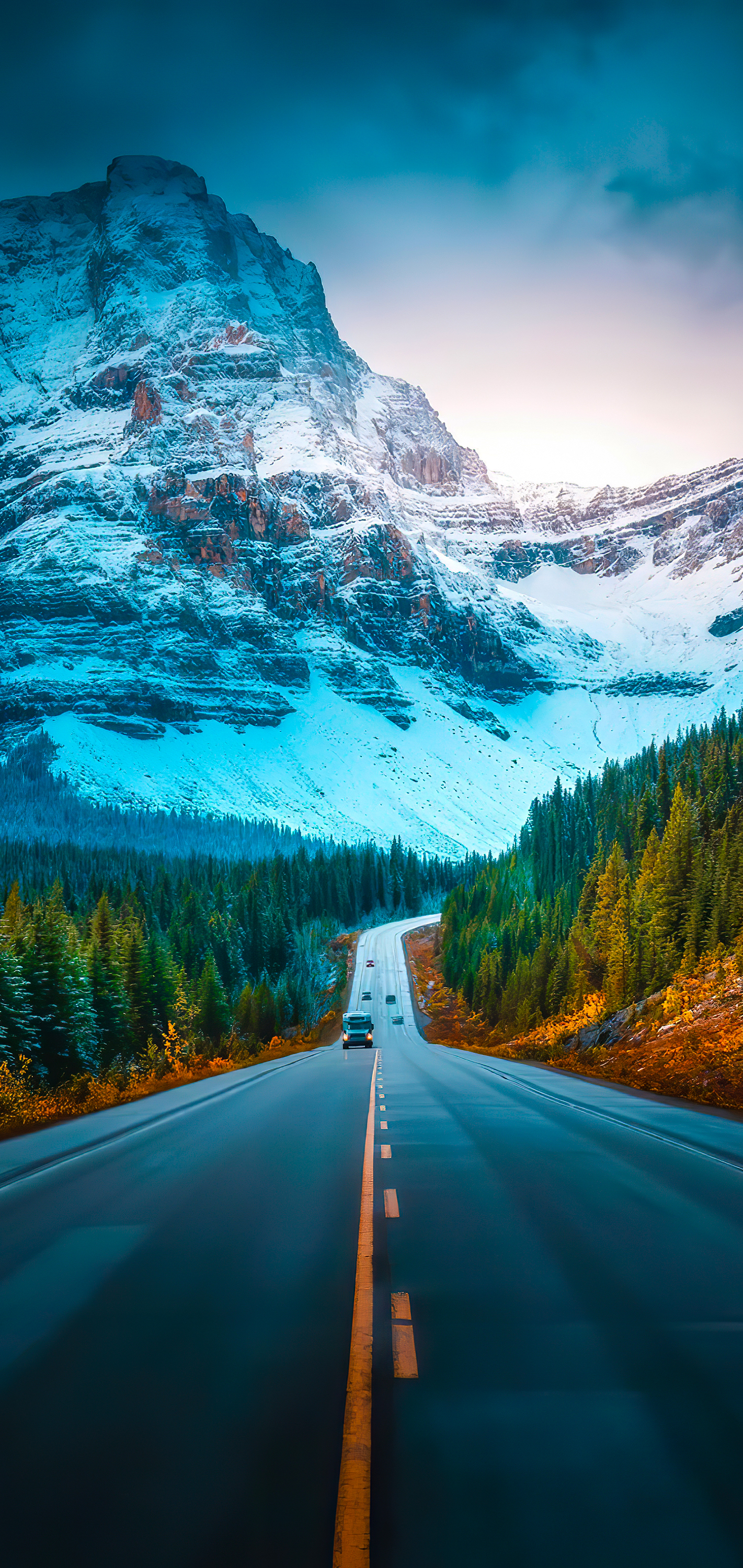 Road iPhone wallpaper ieditwalls idownloadblog zach doehler