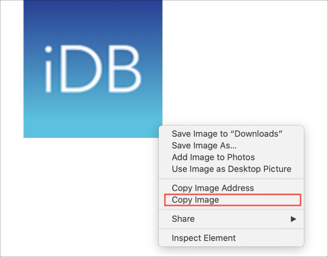 Safari Copy Image Mac
