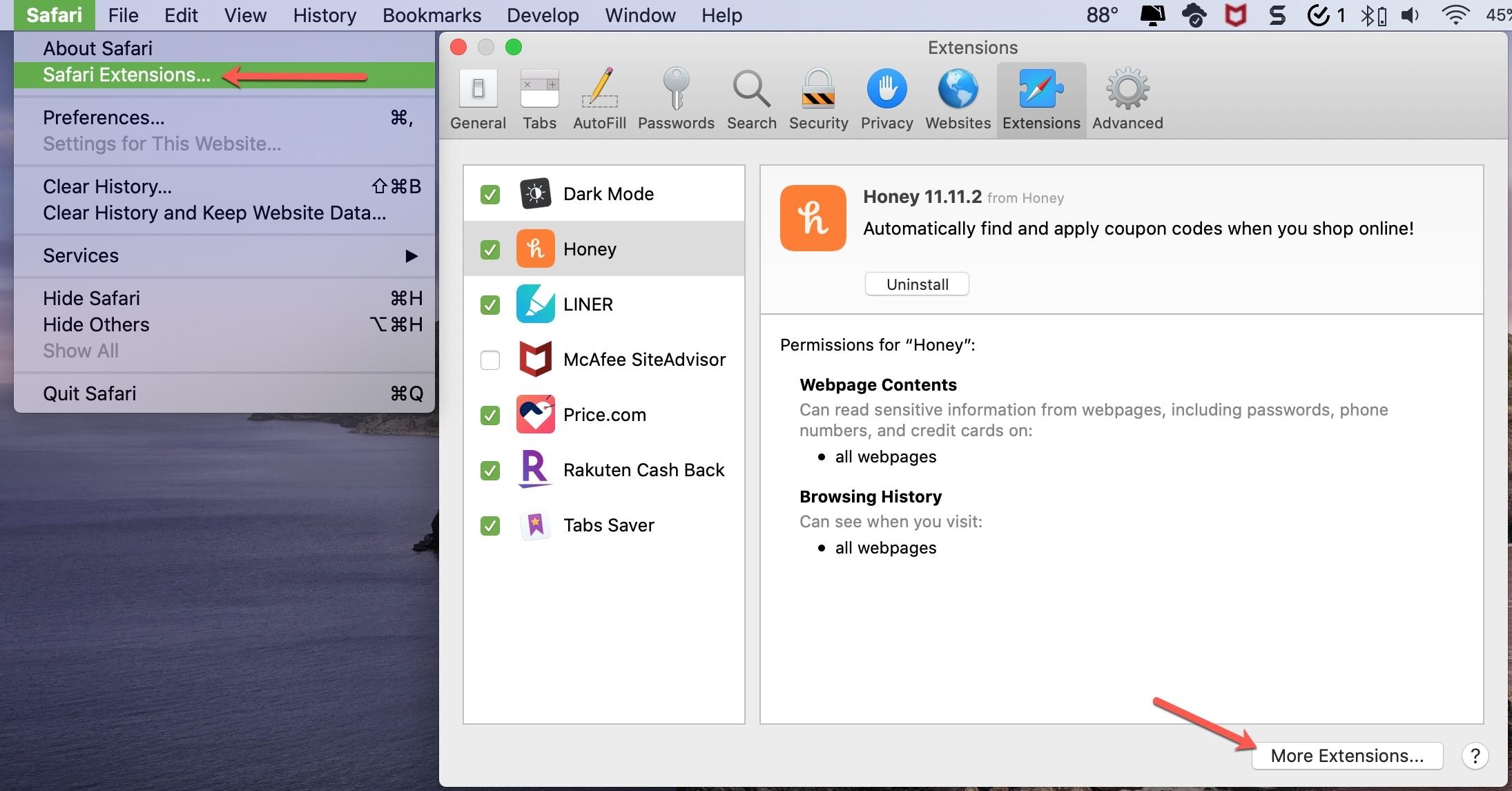 Safari Get Extensions Mac App Store
