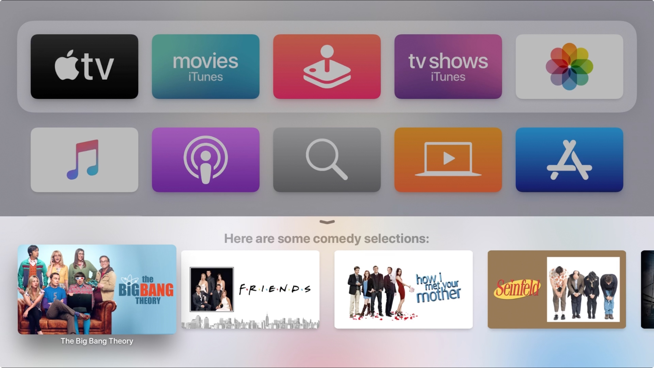 Search Genre Siri on Apple TV