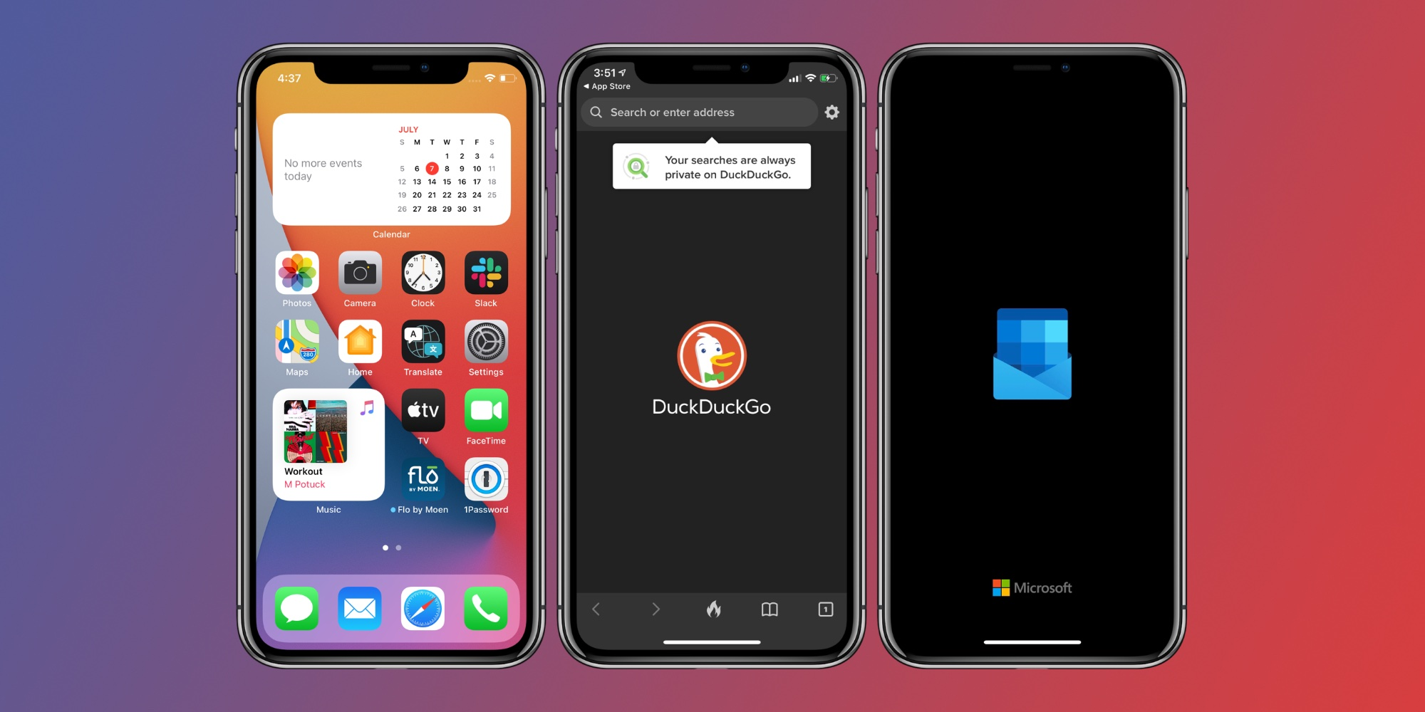change default web browser iPhone ipad - sample image