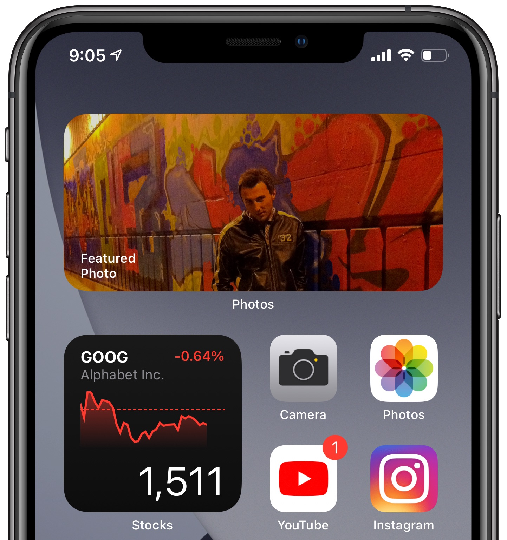 create widget stacks iPhone Home screen - hero image