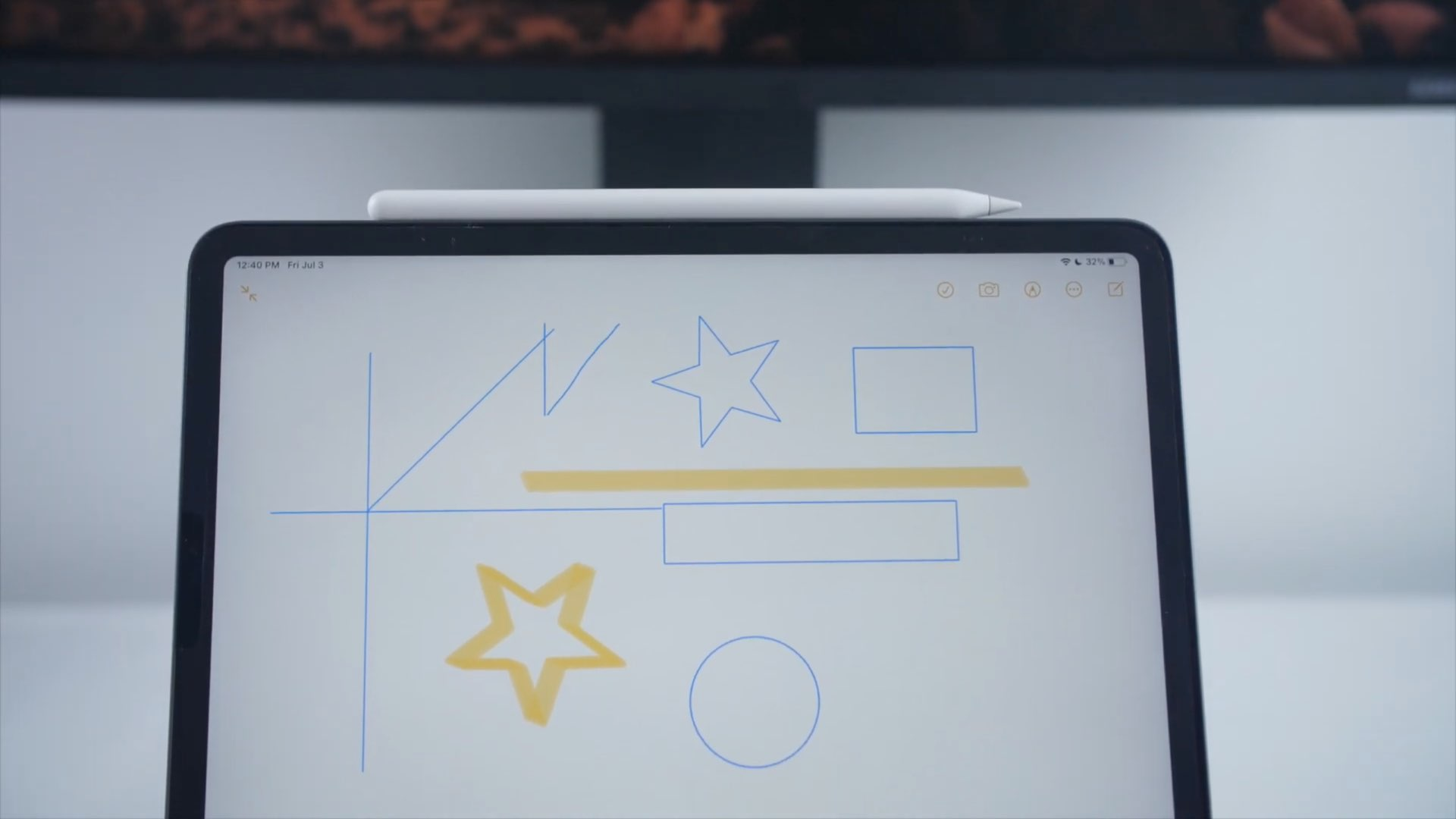 Apple Pencil features iPadOS 14