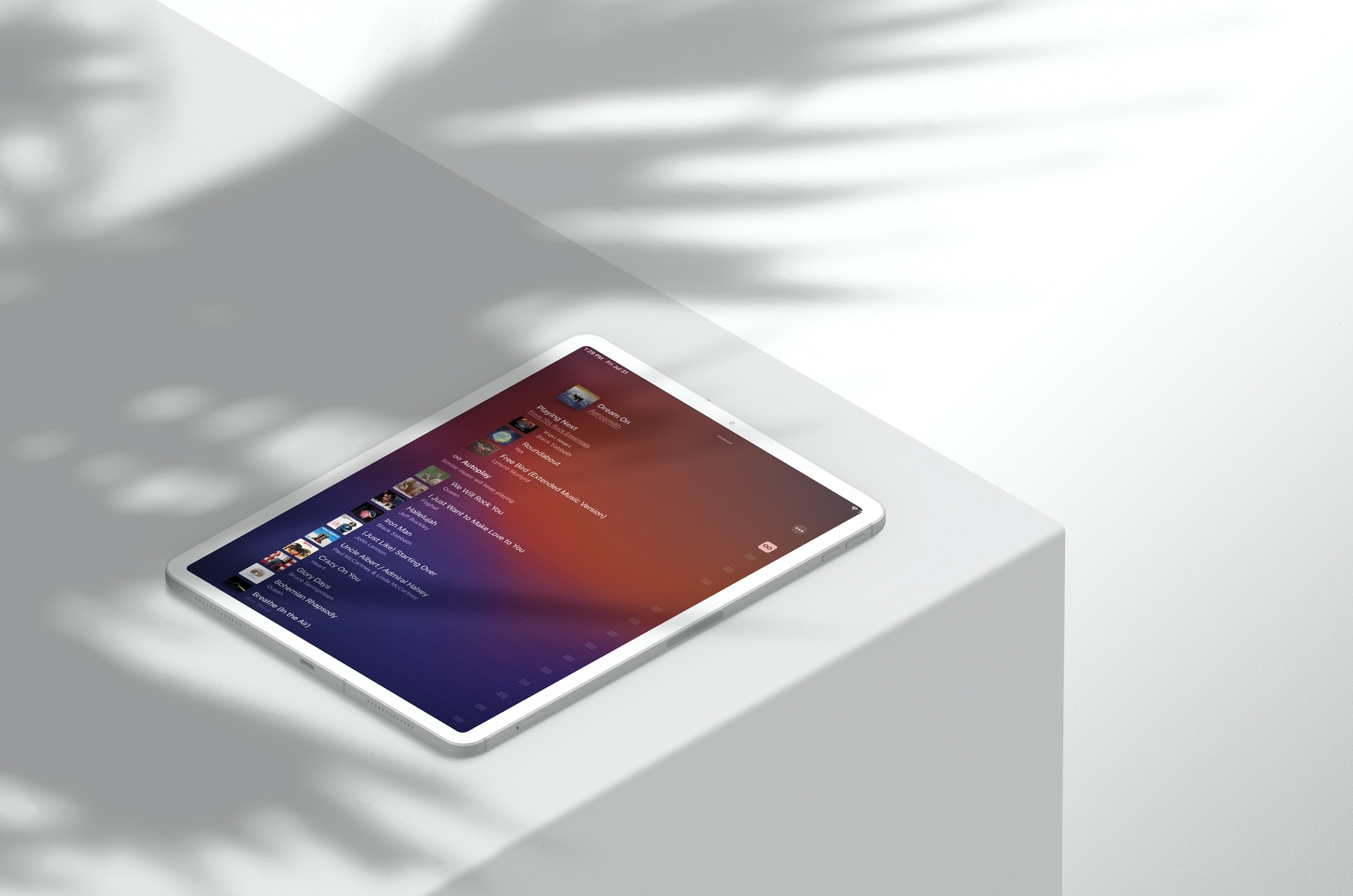 Autoplay Playing Next iPad