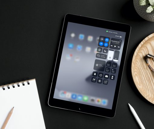 Camera Recently Used in iPad Control Center