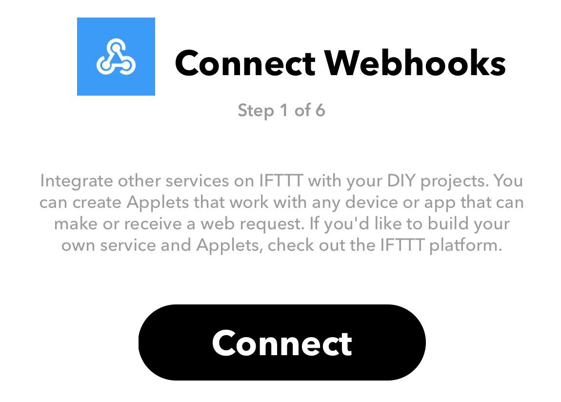 Connect webhooks